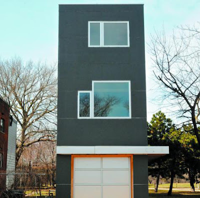 a house that is 12.5 feet wide