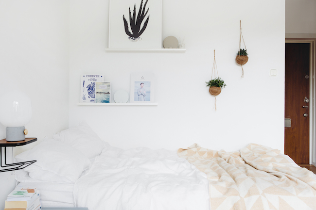 My scandinavian home small space inspiration a calm stockholm pad - Decoratie kamer ...