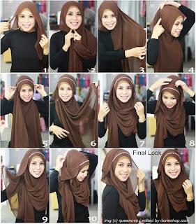 Kreasi Hijab Pashmina Untuk Remaja Terbaru