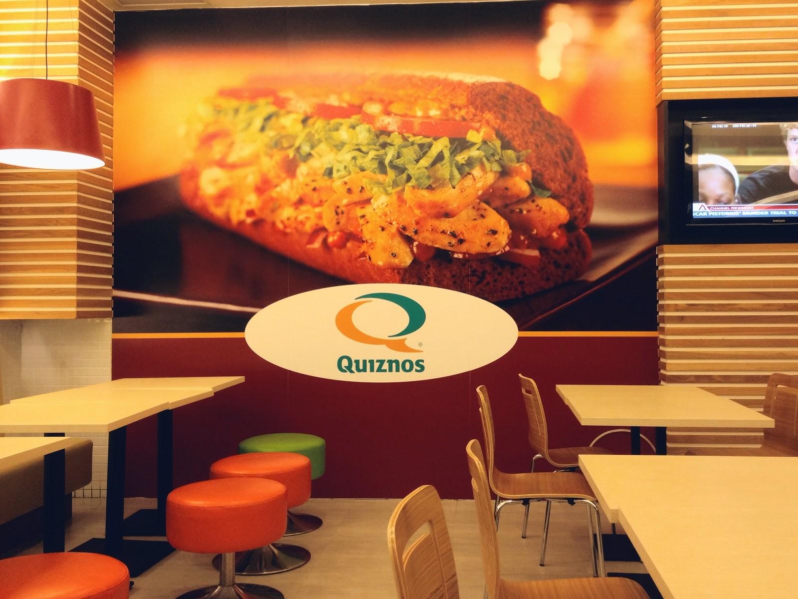 Quiznos @ Changi Airport, Singapore