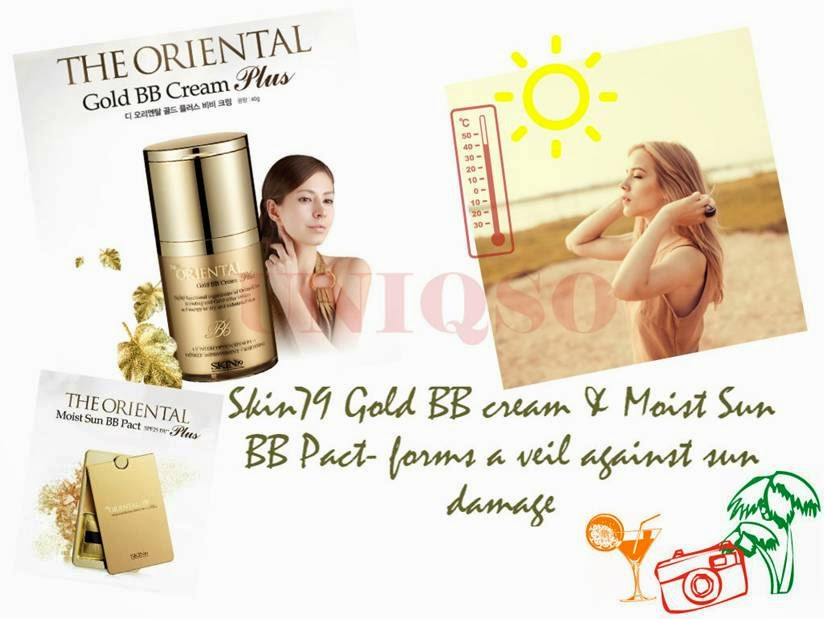 Celebrate summer with Skin79 Oriental Gold BB Cream & Moist Sun BB Pact