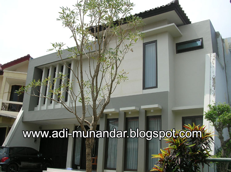 Desain Arsitektur Rumah Mediterian Ke Arsitektur Tropis Minimalis