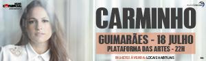 Passatempo Carminho em Guimarães