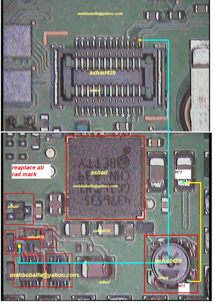 Nokia 6120 LCD Light Solution