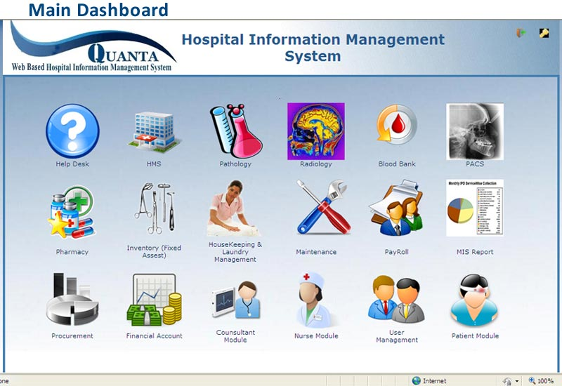 hospital management system - Kaza psstech co