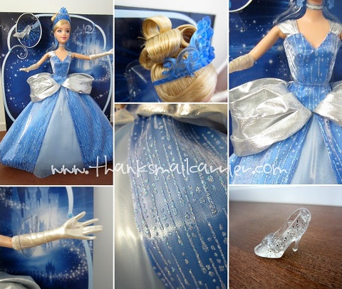 Disney Cinderella Holiday Doll