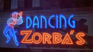 Dancing Zorba's Channel Letters Neon Sign