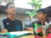 Memek and bubu. On our study hours. Memek with his adorable face looking at .