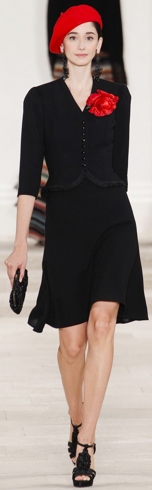Ralph Lauren 2013 - Amazing black dress