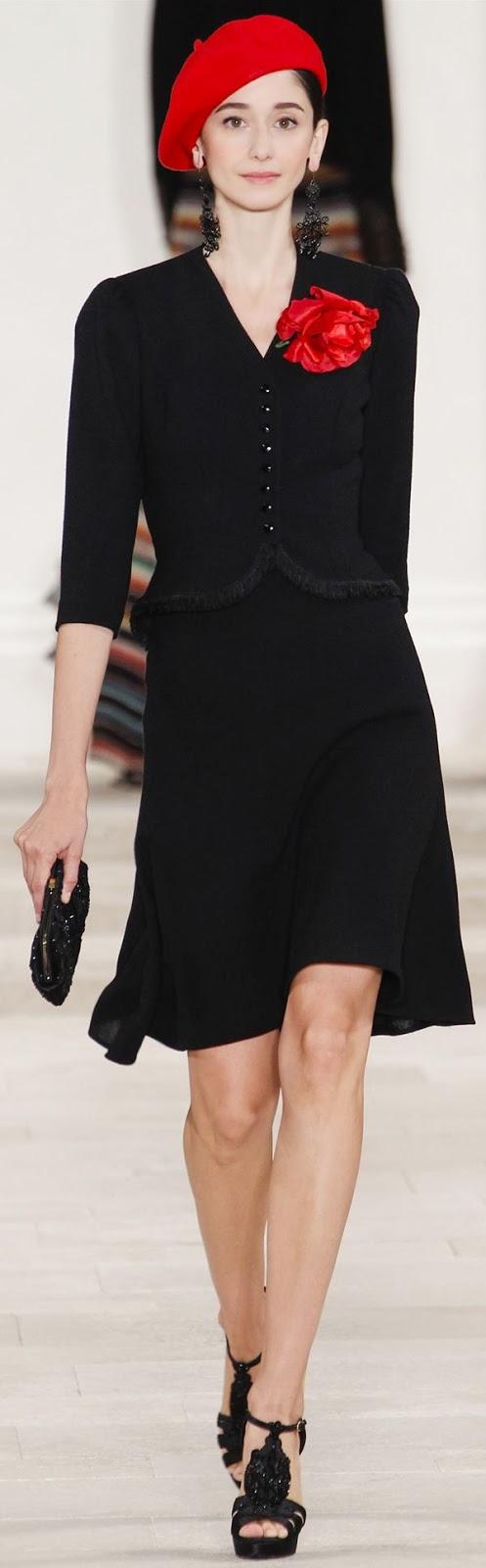 Ralph Lauren 2013 - Amazing black dress