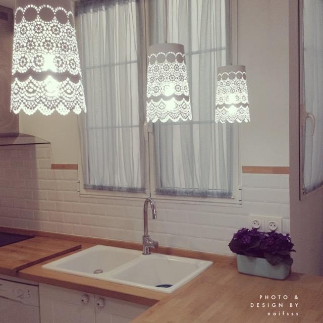Diy de macetero de ikea a l mpara de techo naif sss - Imagenes lamparas de techo ...