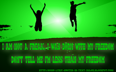 Bad Kids - Lady Gaga Song Lyric Quote in Text Image