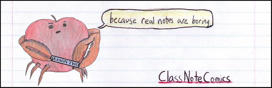 Class Note Comics