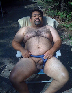 outdoorsman07012012 11 Chubby Sexy Guys Outdoors with their Cocks Hanging Out