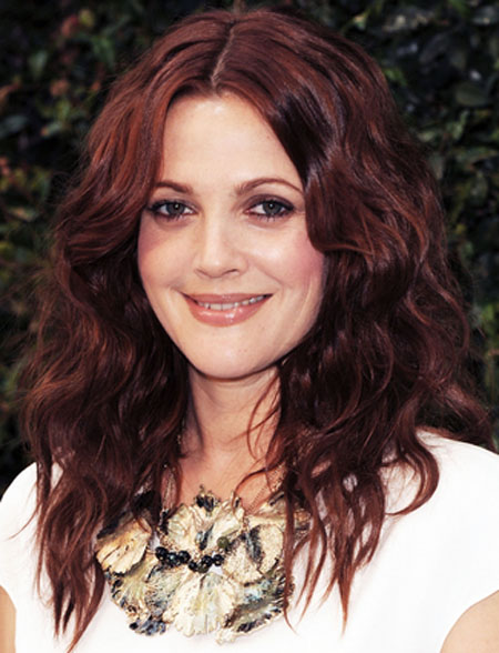 Drew Barrymore Big & Sexy Hairstyles