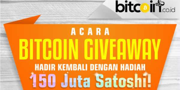 Ikut Kontes Cerita Sukses Bitcoin Bisa Dapat 150 Juta Satoshi