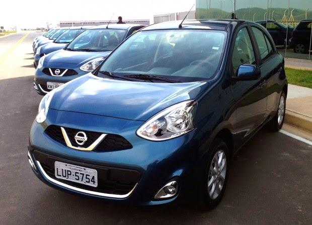 Novo Nissan March 2015