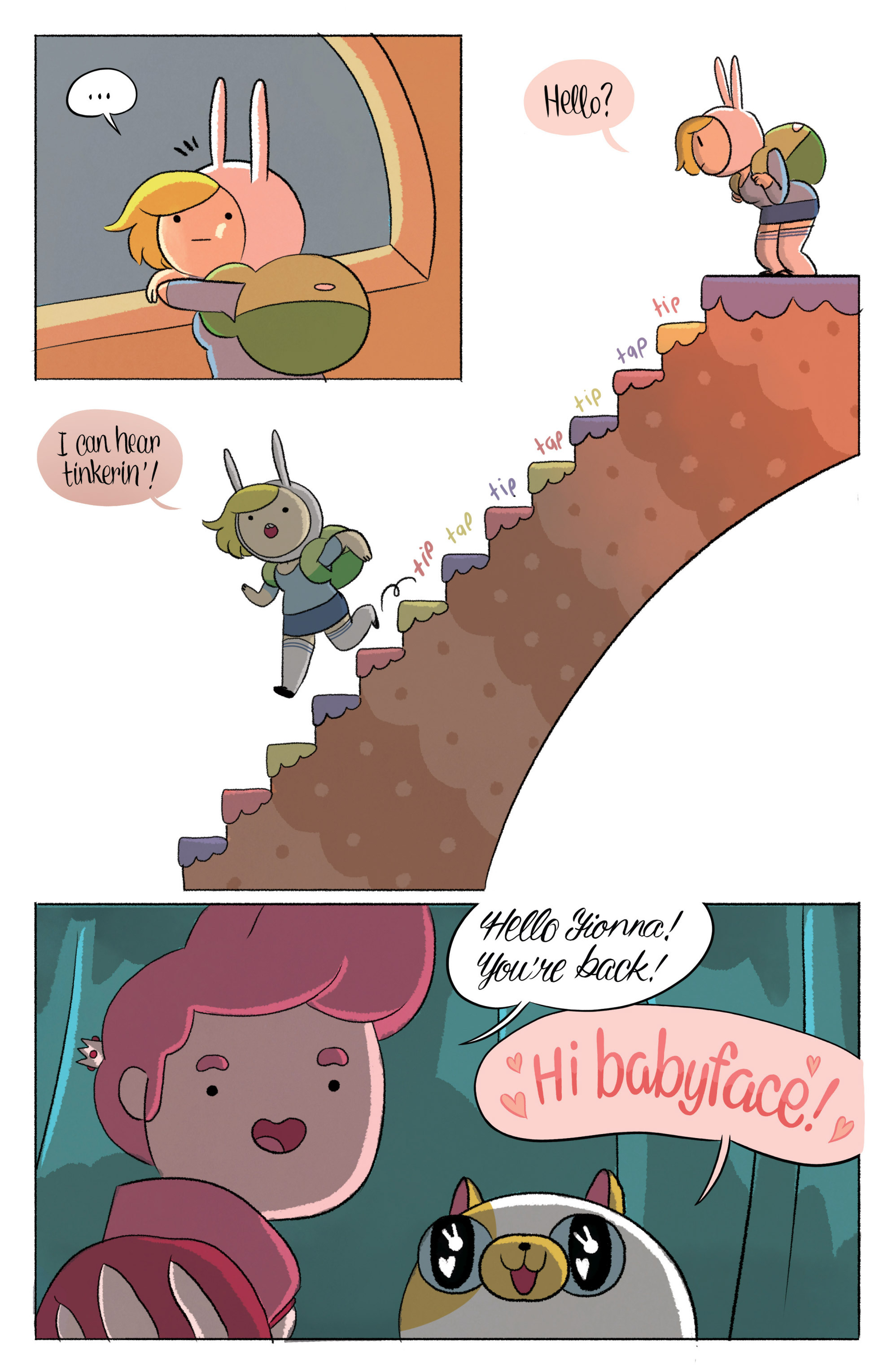 Read online Adventure Time with Fionna & Cake comic -  Issue #5 - 8