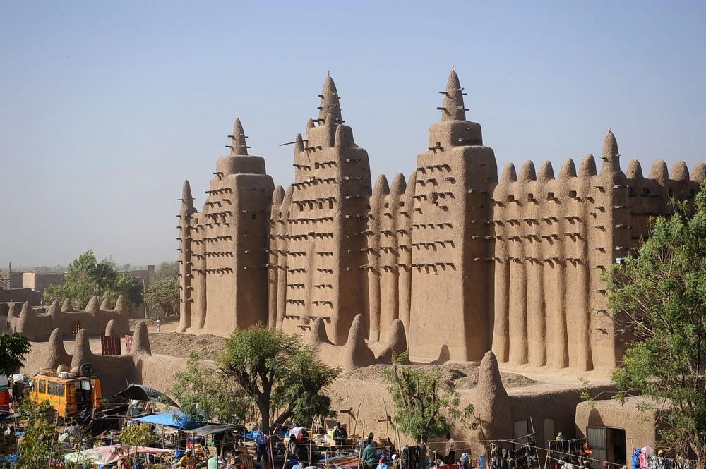 Algunos de los lugares Patrimonio de la Humanidad menos conocidos  Gran+Mezquita+de+Barro+Djenn%C3%A9