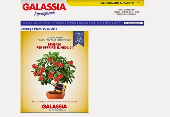 Catalogo Punti Galassia 2015