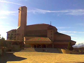 El Templo del Santuario de Torreciudad (Somontano, Huesca, Aragón, España)
