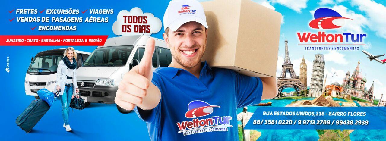 WELTON TUR JUAZEIRO - CRATO - FORTALEZA E REGIÃO