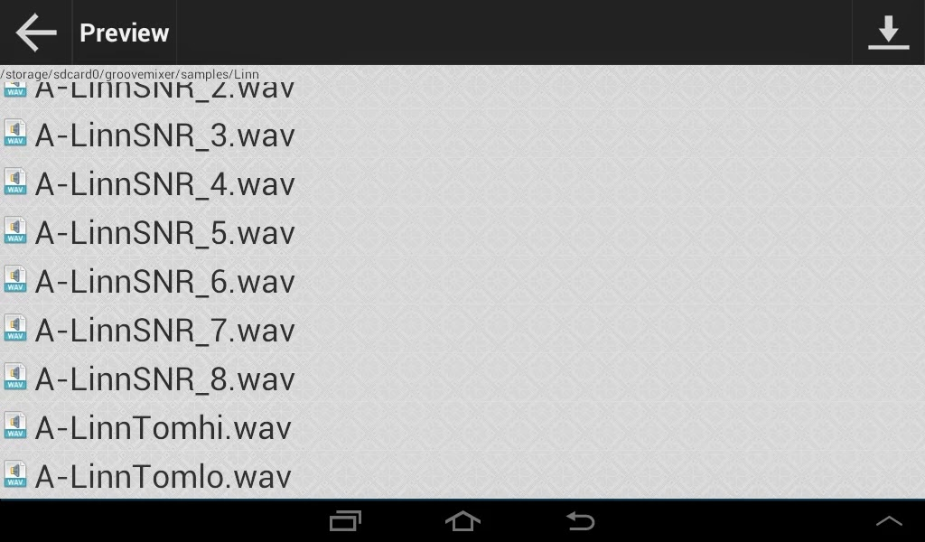 Android Beat Yapma Uygulaması GrooveMixer Apk resimi