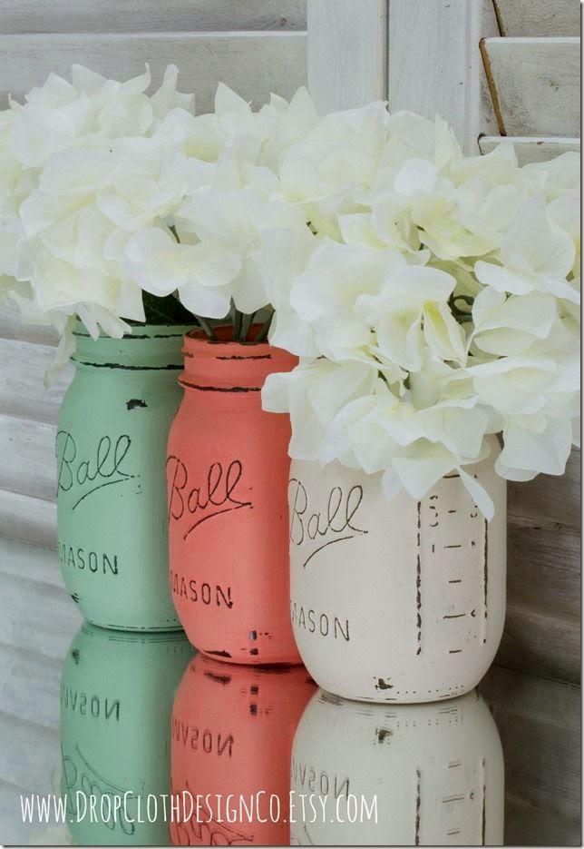 Beautiful Bridal Coral Cream And Mint Green Weddings