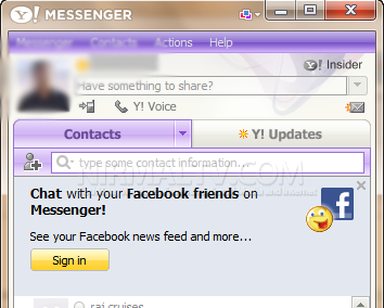 yahoo messenger chat