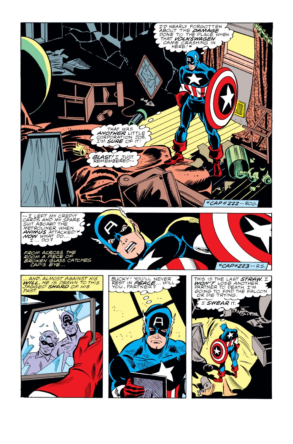 Captain America (1968) Issue #229 #143 - English 7