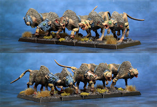 Skaven Wolf Rats