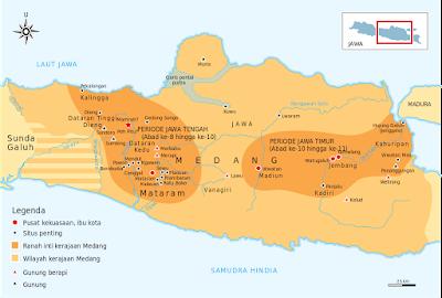 Wilayah Kekuasaan Kerajaan Medang
