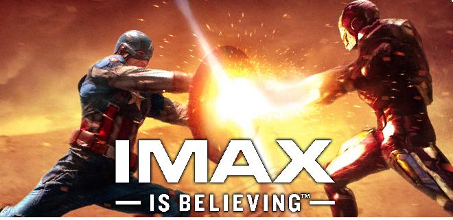 Capitão América 3: Guerra Civil vai lançar nova tecnologia IMAX