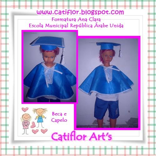 Muitas vezes Catiflor Art's: BECA E CAPELO CP35