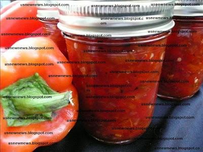 Red capsicum marmalade