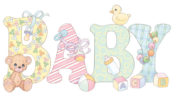 Precious Moments para baby shower - Imagui