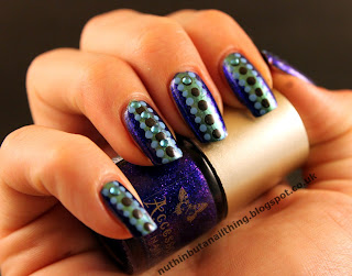 Accessorize Electric Blue nail polish