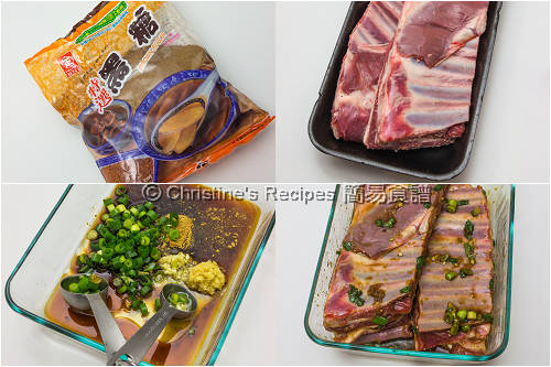 Marinate Lamb Ribs