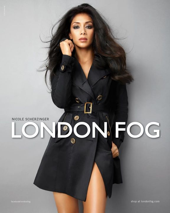 Fashionable Hairstyles Nicole Scherzinger on London Fog 02