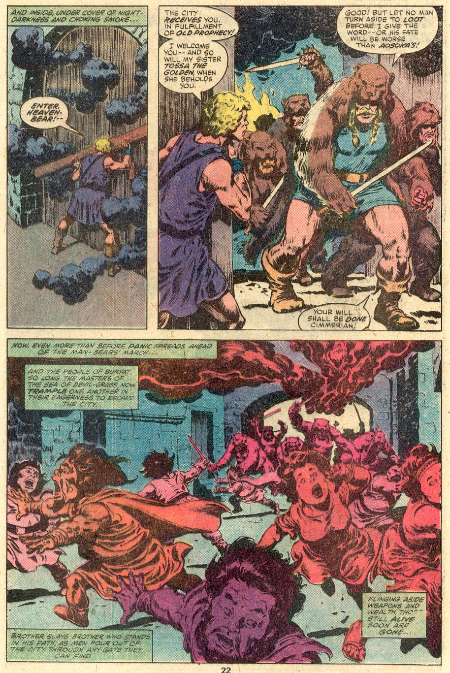 Conan the Barbarian (1970) Issue #112 #124 - English 13