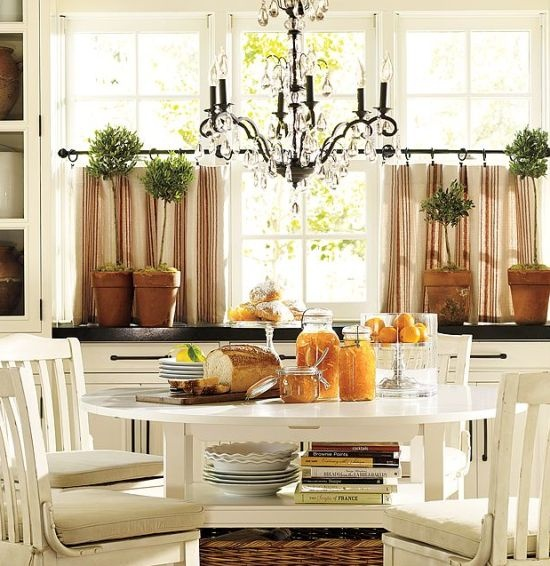The Zoo: Covering Kitchen Windows