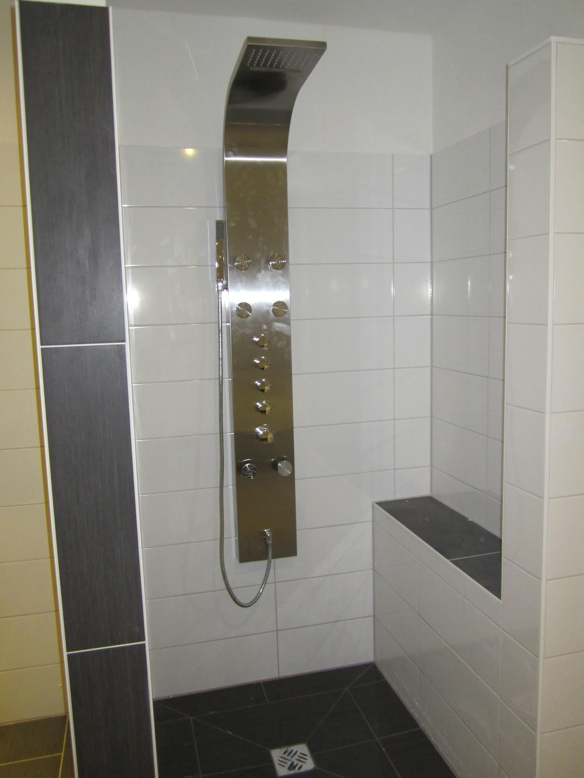 unser hausbau einbau dusche und duscht r in eigenleistung. Black Bedroom Furniture Sets. Home Design Ideas
