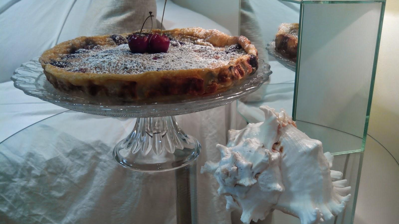 Tarta de cerezas, pastel de cerezas, clafoutis de cerezas, tarta, cerezas, tarta de fruta,