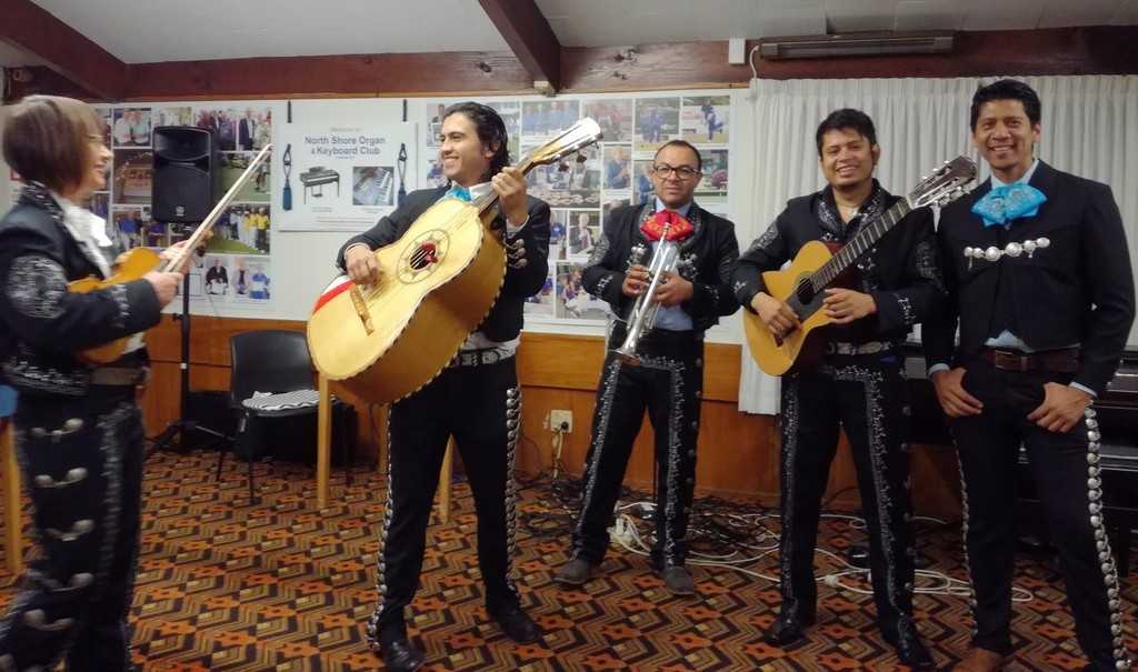 Our April 2018 Guest Artists, The Mariachis