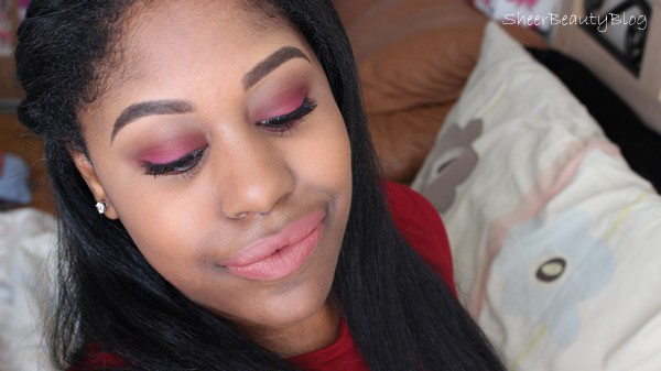 fall smokey eye with jaclyn hill 1995 lipstick