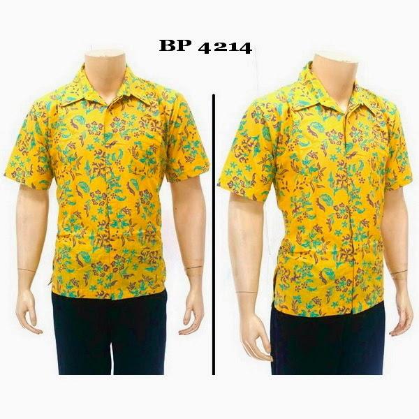 Baju Hem Batik Pria BP4214