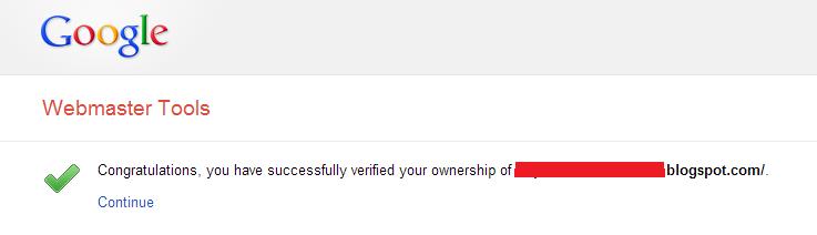 Cara Melakukan Google Site Verification