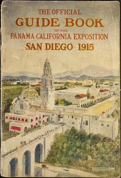 Panama California Exposition San Diego 1915 Guidebook