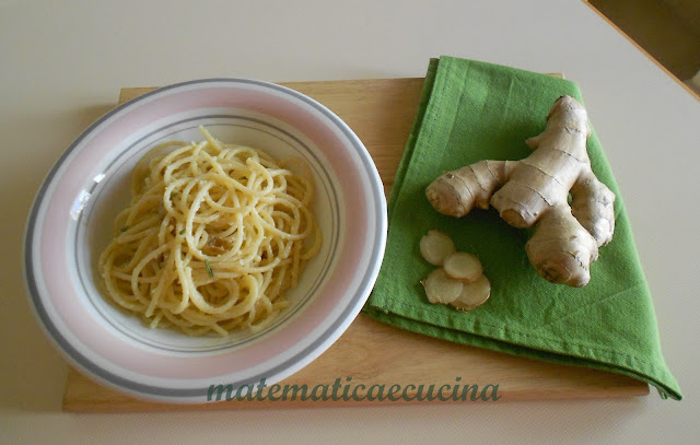 pasta con zenzero e parmigiano