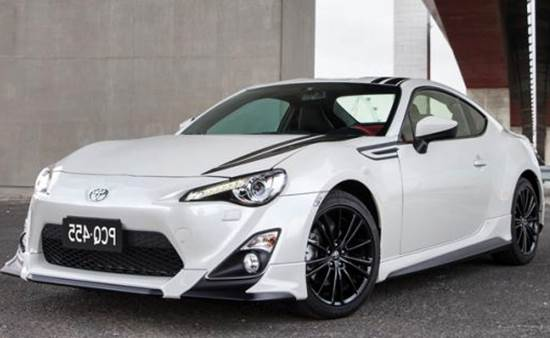 2016 Toyota GT 86 Blackline Limited Edition